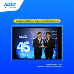 ADEX – Ganadores del Premio Emprendimiento Estudiatil